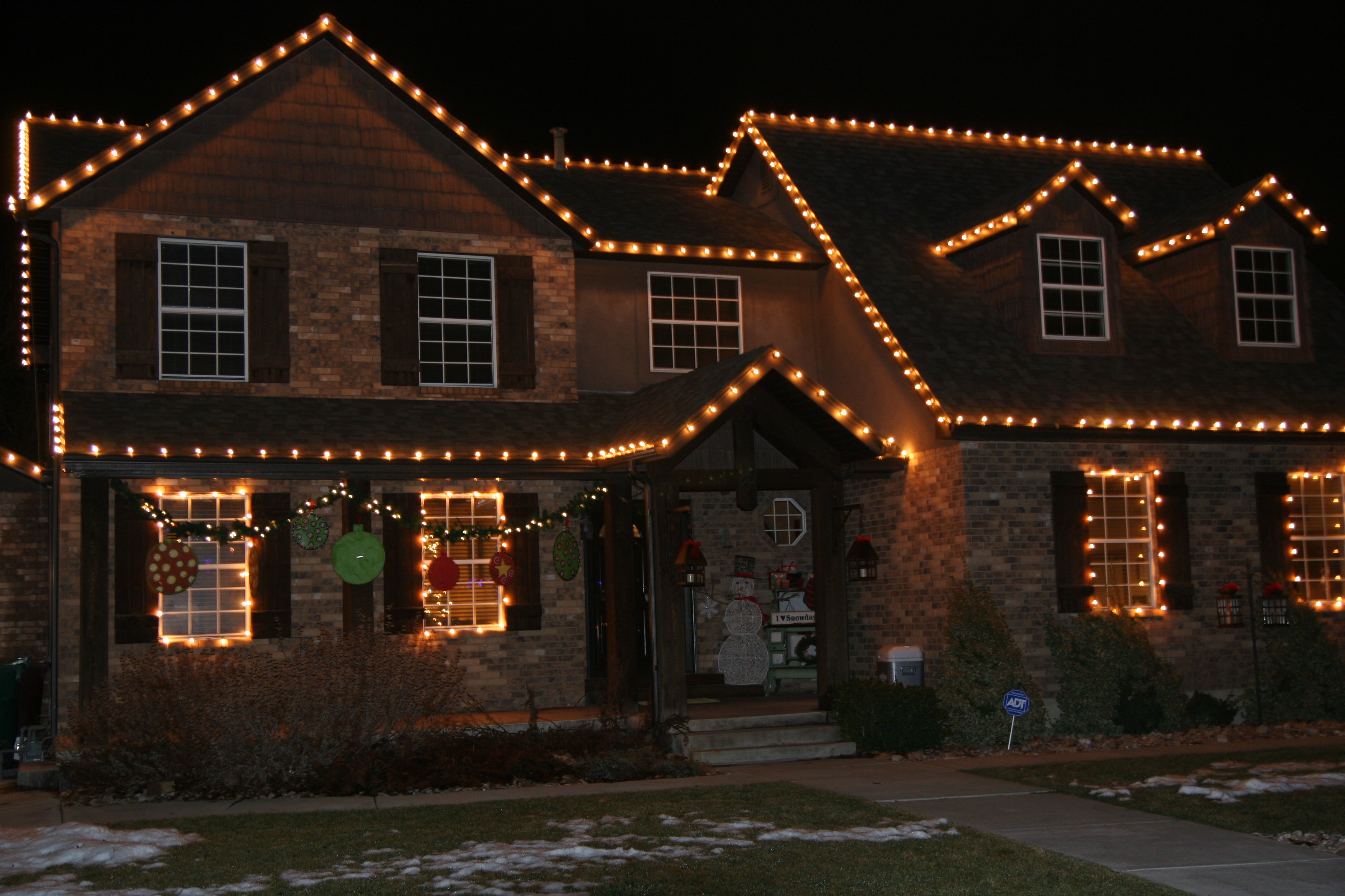 Christmas Lights-front of home